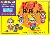 CEV Kids Bible Dramatized New Testament Padded Zipper Case