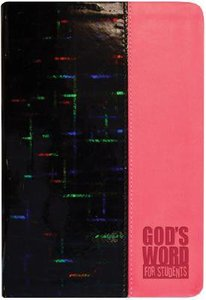 Gods Word For Students Pink Prism (Holographic)