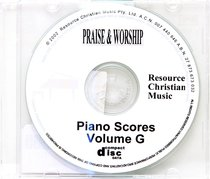 Rcm Volume G Full Piano Version on CDROM (Supp 38-42)