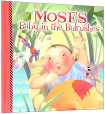 Moses Baby in the Bulrushes Story Book