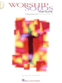 Worship Solos For Flute (Music Book)
