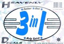 Heavenly Decal Mini Sticker:3 in 1