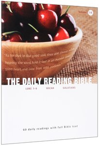 The Daily Reading Bible (Vol 14)