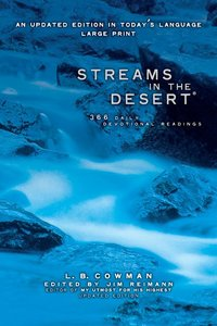 Streams in the Desert (Large Print)