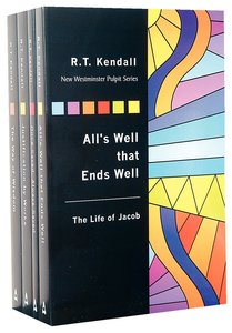 R T Kendall Classics 4-Pack (4 Vols) (New Westminster Pulpit Series)