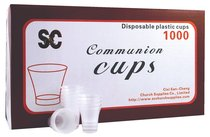 Communion Cups Clear Plastic (Box Of 1000)