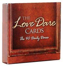 The Love Dare:40 Daily Dare Cards