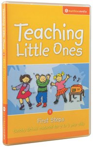 Teaching Little Ones #01: First Steps CDROM (2-3 Years) (#01 in Teaching Little Ones Sunday School Lessons Series)