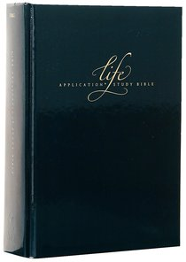 NLT 20Th Anniversary Life Application Study Bible Limited Edition