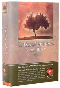 NLT Transformation Study Hardcover Edition