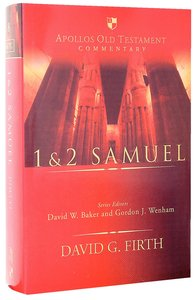 1 & 2 Samuel (Apollos Old Testament Commentary Series)