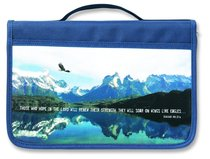 Bible Cover Inspiration Canvas (Eagles Wings)