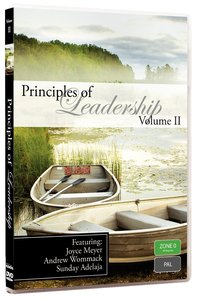 Joyce Meyer, Andrew Wommack, Sunday Adelaja (1 Disc) (#02 in Principles Of Leadership Series)