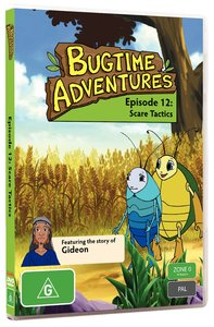 Scare Tactics (#12 in Bugtime Adventures Series)