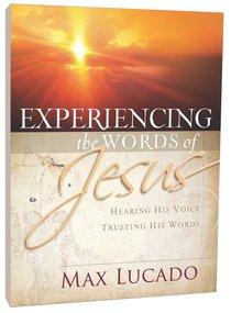 Experiencing the Words of Jesus (Workbook)