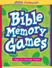 Bible Memory Games (Bible Fun Stuff Series)