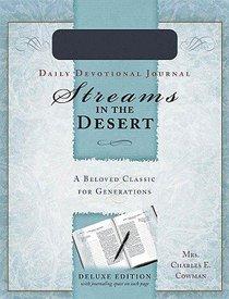 Streams in the Desert Devotional Journal