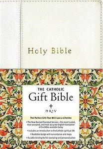NRSV Catholic Gift Bible White
