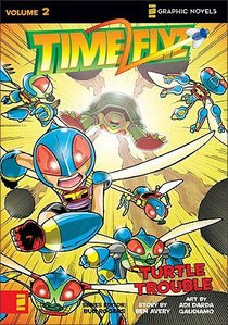Turtle Trouble (Z Graphic Novel) (#02 in Timeflyz Series)