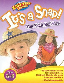 Its a Snap (Reproducible) (Pre-School) (Bible Fun Stuff Series)