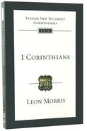 1 Corinthians (Re-Formatted) (Tyndale New Testament Commentary Re-issued/revised Series)