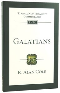 Galatians (Re-Formatted) (Tyndale New Testament Commentary Re-issued/revised Series)