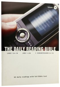 The Daily Reading Bible (Vol 16)