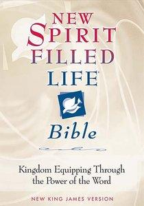 NKJV New Spirit Filled Life Bible Burgundy