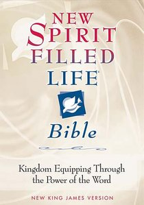 NKJV New Spirit Filled Bible Burgundy Indexed