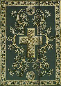 Ncv Cross Bible Hunter Green Metallic Cover With Embossed Design