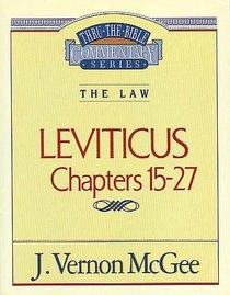 Thru the Bible OT #07: Leviticus (Volume 2) (#07 in Thru The Bible Old Testament Series)