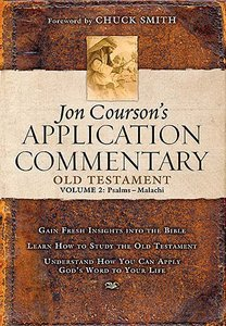 Old Testament Psalms-Malachi (Volume 2) (Coursons Application Commentary Series)