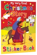 My Very First Christmas Story Sticker Book (My Very First Sticker Book Series)