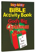 Activity Book Gods Big Christmas Plan (Itty Bitty Bible Series)