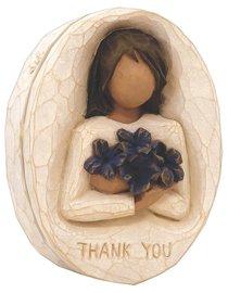 Willow Tree Keepsake Box: Thank You