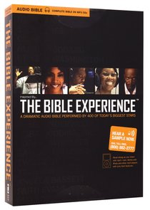 Inspired By... the Bible Experience Complete Bible MP3 (Unabridged 88 Hrs)