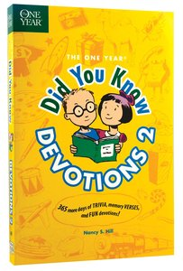 One Year: Did You Know Devotions 2