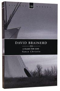 History Makers: David Brainerd (Historymakers Series)