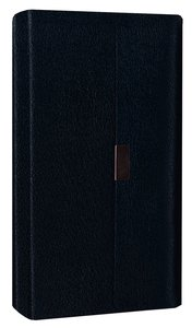 NIV Trimline Snap Closure Bible Navy (Red Letter Edition)