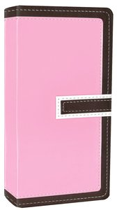 NIV Trimline Bible Chocolate Pink Duo-Tone (Red Letter Edition)