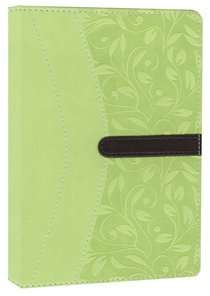 NIV Compact Thinline Bible Melon Green Chocolate Duo-Tone (Red Letter Edition)