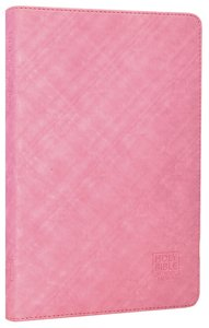 GNB Thinline Bible Shimmer Pink Flexitone Thumb-Indexed