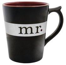 Classic Ceramic Mug: Mr, (Song of Solomon 3:4 NIV) (Black/white)