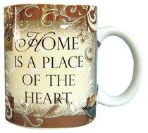 """Ceramic Mug """"Home is a Place"""""""