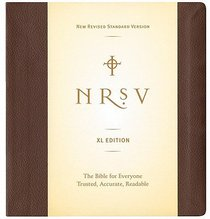 NRSV Extra Large Brown