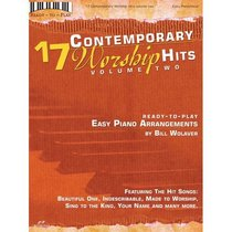 17 Contemporary Worship Hits Volume 2 (Music Book)