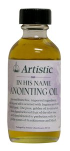 Anointing Oil: Scented (Rw-34) (2 Oz)