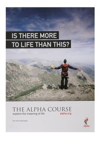 Is There More to Life Than This? Poster A3 (Portrait) (Alpha Course)