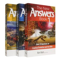 New Answers Books, the 3-Pack (3 Vols) (New Answers Book Series)