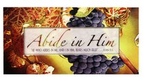 Promises Easled Magnet: Abide in Him